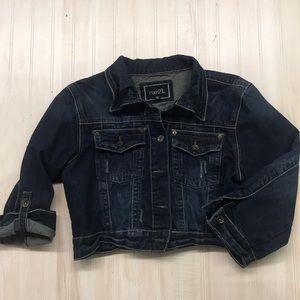Rue21 women's jean jacket. Size XL